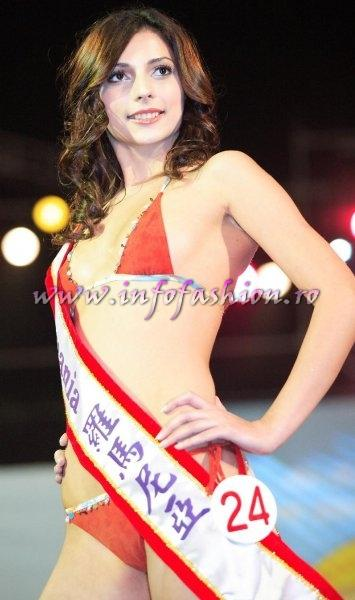 Romania-Ana Zupcec at Miss Bikini World 2006 in Taiwan
