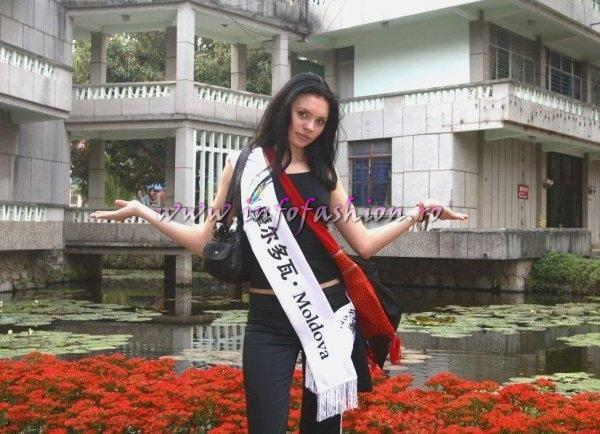 Moldova Rep, Rodica Sisianu la Top Model of the World 2007 China, Kunming, Yunnan