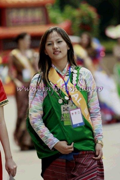 Nepal- Zenisha Moktan- China 2009 International Beauty & Model Festival