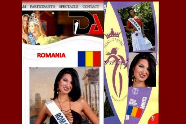 Romania- Andreea Alina Cojocaru, Miss Bikini Award at Miss Globe International