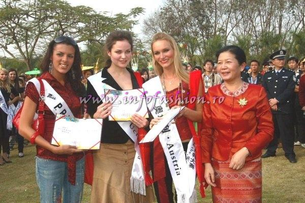 2007-Governor welcomes Top Model of the World Delegates in Xi Shuang Banna
