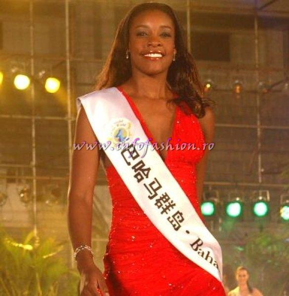 Bahamas_2007 Diandrea Conliffe at Top Model Of The World in China, Kunming, Yunnan (WBO)