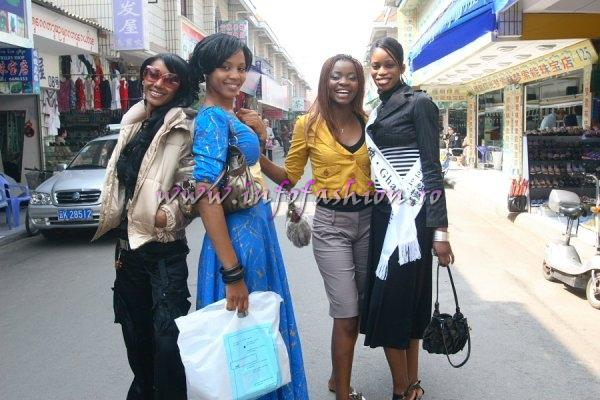 2007-Shopping tour in Xishuangbanna, China at Top Model of the World
