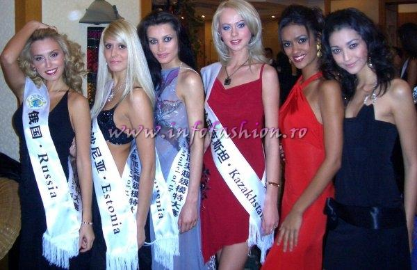 WBO-2007 Group Photos Top Model Of The World, Province Yunnan, China