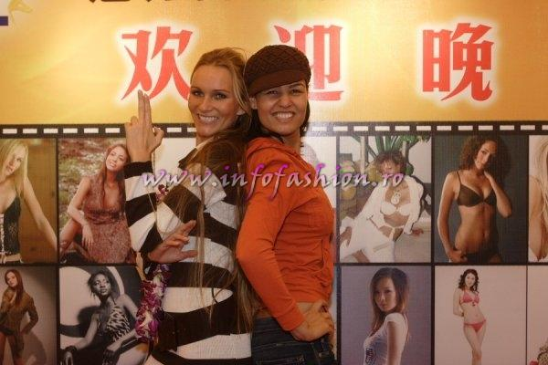 Welcome at Top Model of the World 2007 in Kunming (Photo: Detlev Helmerich)