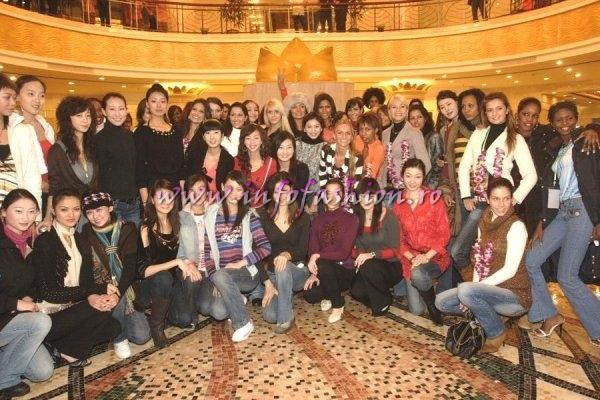 WBO-2007 Welcome at Top Model of the World in China, Kunming