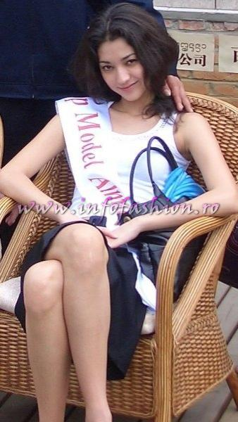Kazakhstan_2007 Almaty Assel Kuzhiyeva at Top Model Of The World in China, Kunming, Yunnan (WBO)