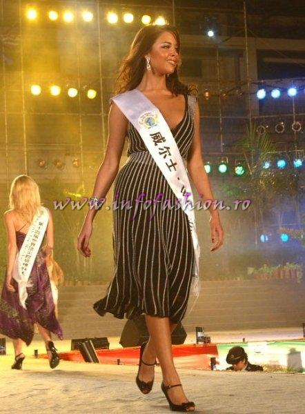 Wales-Alison Brennan at Top Model Of The World 2007 (Photo: Detlev Helmerich)