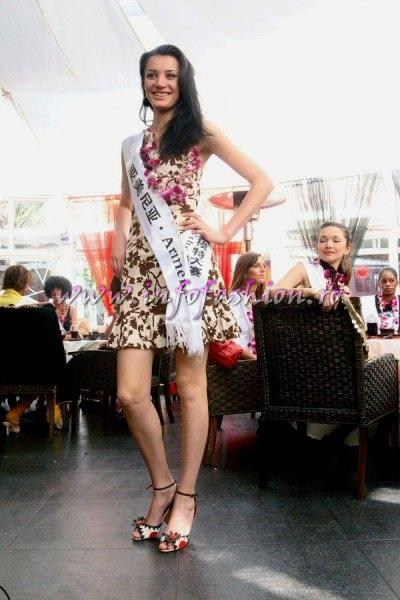 Armenia_2007 Marine Avetyan at Top Model Of The World in China, Kunming, Yunnan (WBO)
