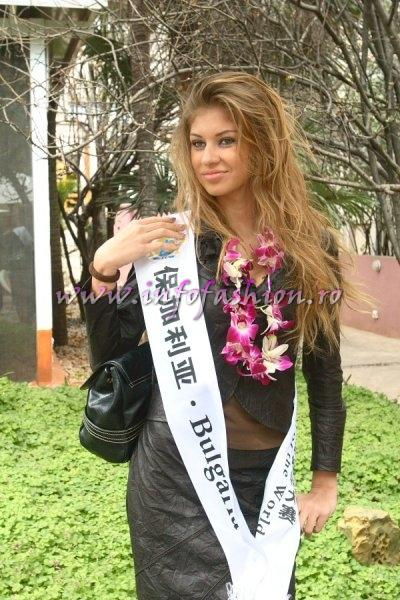 Bulgaria_2007 Ivelina Ivanova at Top Model Of The World in China, Kunming, Yunnan (WBO)