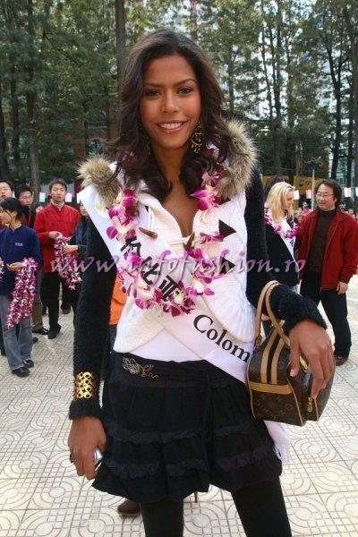 Colombia_Monica Palacios at Top Model Of The World in China, Kunming, Yunnan (WBO) 2007