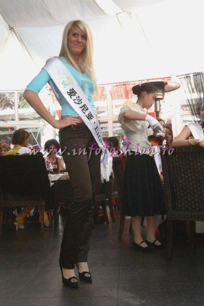 Estonia_2007 Olga Sibanova at Top Model Of The World in China, Kunming, Yunnan (WBO)