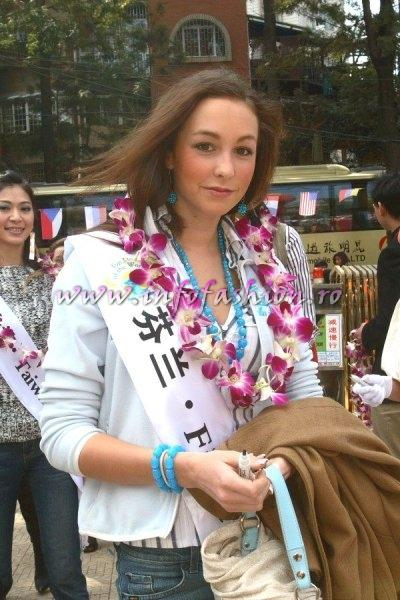 Finland_2007 Cecilia Ronnblad at Top Model Of The World in China, Kunming, Yunnan (WBO)