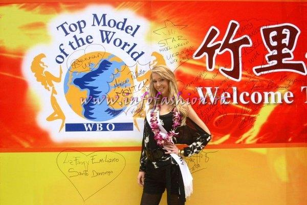 Germany_2007 Daniela Domrose at Top Model Of The World in China, Kunming, Yunnan (WBO)