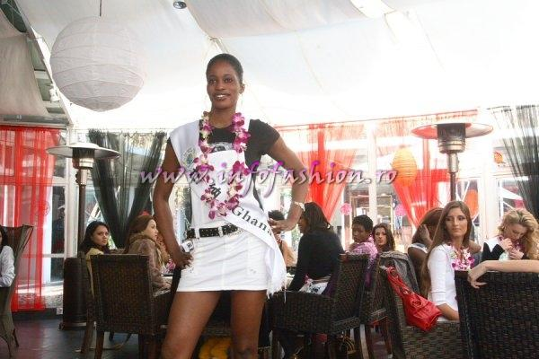 Ghana_2007 Brenda Boateng Asare at Top Model Of The World in China, Kunming, Yunnan (WBO)