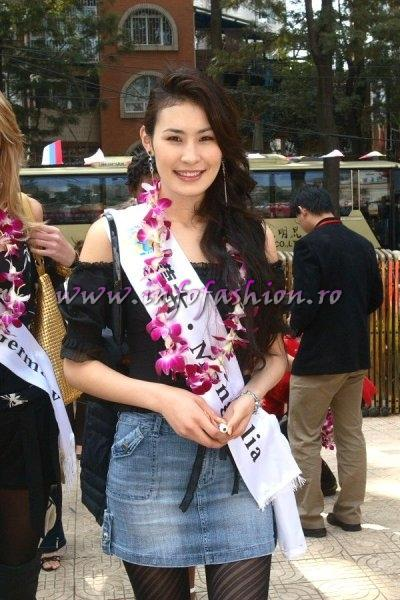 Mongolia_2007 Uyanga Ochirbat at Top Model Of The World in China, Kunming, Yunnan (WBO)