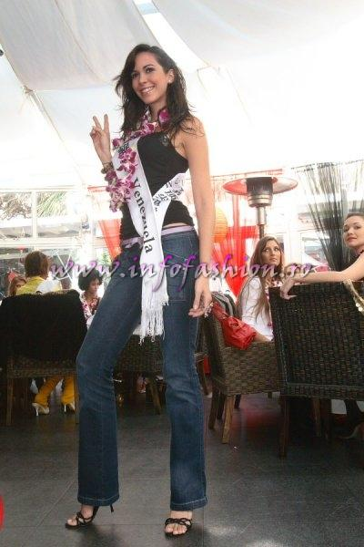 Venezuela_2007 Monica Pallotta at Top Model Of The World in China, Kunming, Yunnan (WBO)