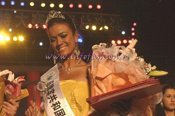 Philippines_2007 Michelle De Leon-1st. runner up Top Model Of The World in China, Kunming, Yunnan (WBO)