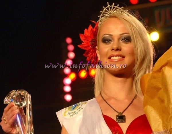 Kazakhstan_2007 Tatyana Dmitrivenko 2nd runner up Top Model Of The World in China, Kunming, Yunnan (WBO)