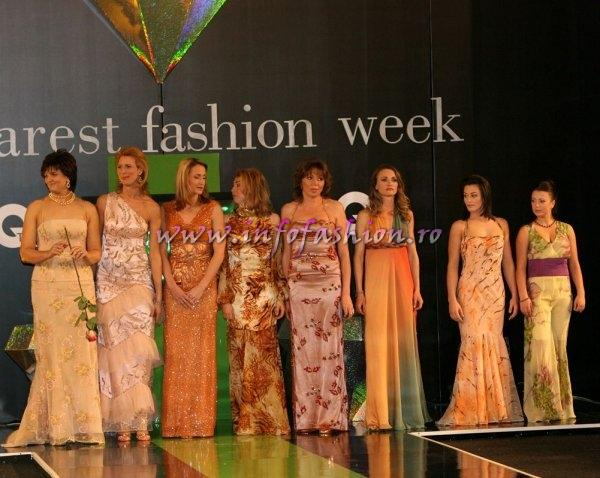 D_&_ Designeri Zina Dumitrescu la Bucharest Fashion Week cu modele sportive de succes 2007 Pw. Infofashion Platinum Agency