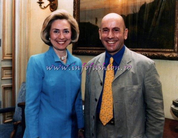 Alain Divert & Hilary Clinton