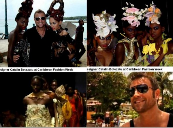 B_&_Designeri_Catalin Botezatu Caribbean Fashion Week haute couture, 400 kg of accessories, photo shooting with Gaynor McDonald, Nell Robinson, Orainne Barett in Jamaica