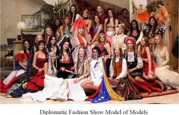 Diplomatic Fashion Show Model of Models Spain