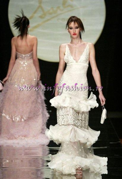 S_&_ Designeri World Fashion Fausto Sarli, World Fashion la Moda si muzica italiana in Sibiu, `Moda e musica sotto le stelle` 30 iunie