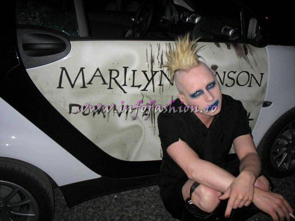 Tim Skold from Marilyn Manson.