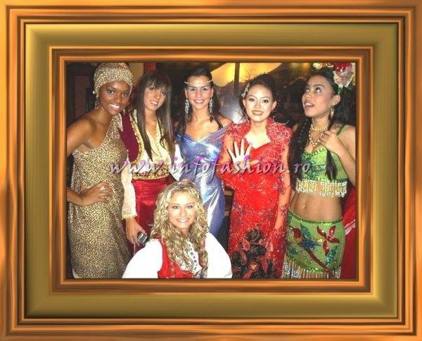 10.07.2007-Miss Tourism Queen International Delegates in Hangzhou, China, Unique & Diversity National Costume, Group Photos