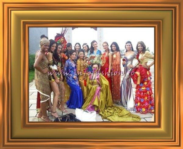 Miss Tourism Queen International Delegates in Hangzhou, China, Unique & Diversity National Costume, Group Photos