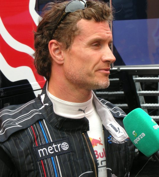 David Coulthard-Red Bull la teste Spa Francocrchamps, Belgium