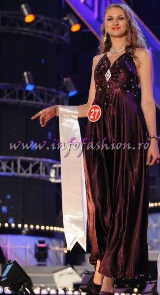 Moldova_Rep_Domnita Sajin at Miss All Nation 2010 in China, Nanjing /Infofashion D_175CM