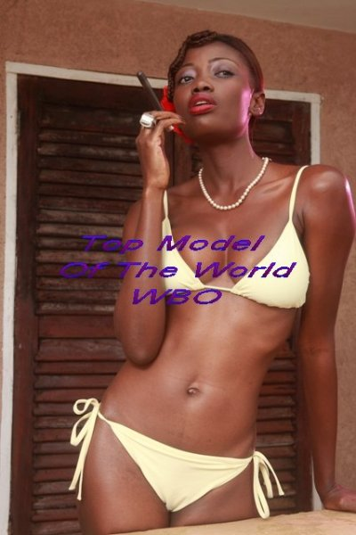 Ghana_2010 Doris Asumaning in TOP 15 at Top Model Of The World WBO in Germany
