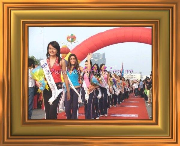 2007 July 22-24 Miss Tourism Queen International Visit to Kai Feng City, the ancient capital of China & Bai Yun Mountain