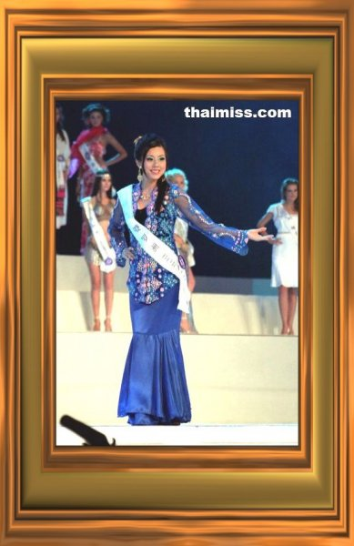 Malaysia_2007 Borneo, Janet Cheok at Miss Tourism Queen International 2007