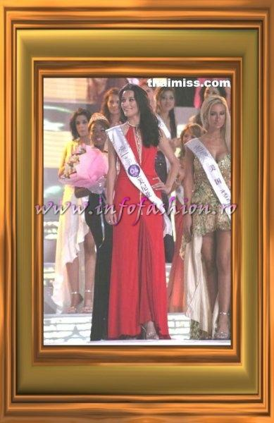 Armenia, Marine Avetyan, 8th place at Miss Tourism Queen International 2007
