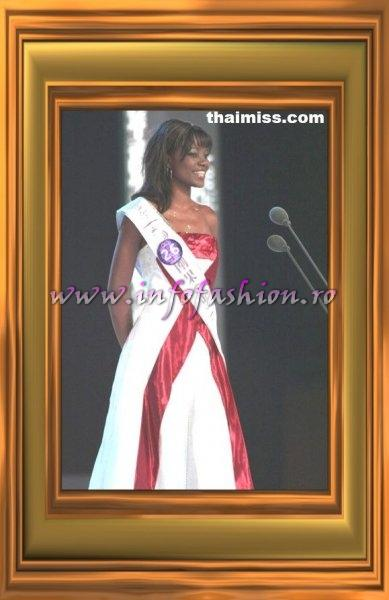 Congo D.R. Mwinga Diane Mizumi, 7th place at Miss Tourism Queen International 2007