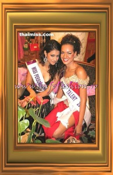 India- Mahima Chaudhary Miss Personality and Curacao- Shadee Braun, 6th at Miss Tourism Queen Intl 2007