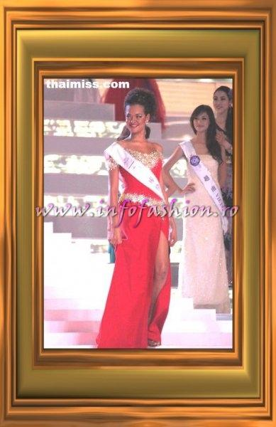 Caribbean Curacao Shadee Braun, 6th place & winner of the Talent Competition at Miss Tourism Queen