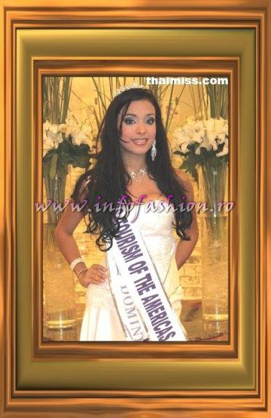 Dominican Rep- Geisha Natalie Montes Americas Continental Queens of Beauty
