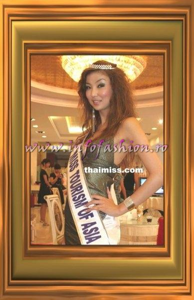 Mongolia, Oyungerel Gankhuyag, Asia Continental Queens of Beauty at Miss Tourism Queen