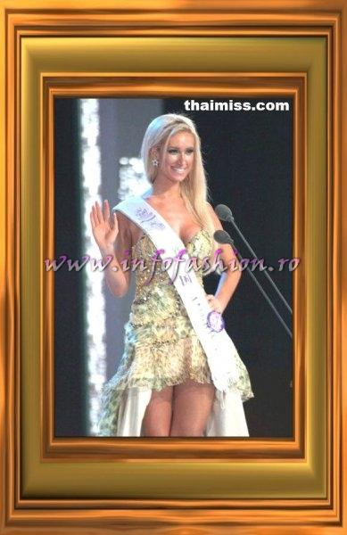 USA America Eve Maciel, 3rd runner-up & Miss Internet Popularity at Miss Tourism Queen