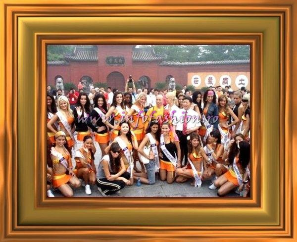 ERM 2007 July 25-Miss Tourism Queen International Visit to the Luoyang Gymnasium