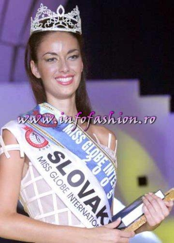 Slovakia- LUCIA LIPTAKOVA Winner of Miss Globe International 2005 in Albania
