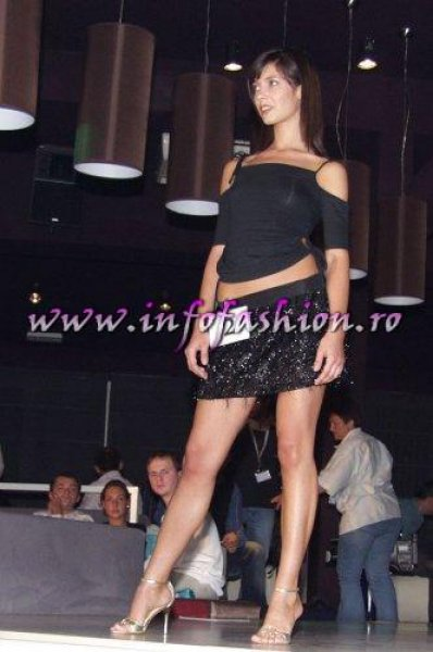 G_179CM Gabriela Olaru (VN) la Model of the World Romania 2004 Bamboo Infofashion Platinum Agency