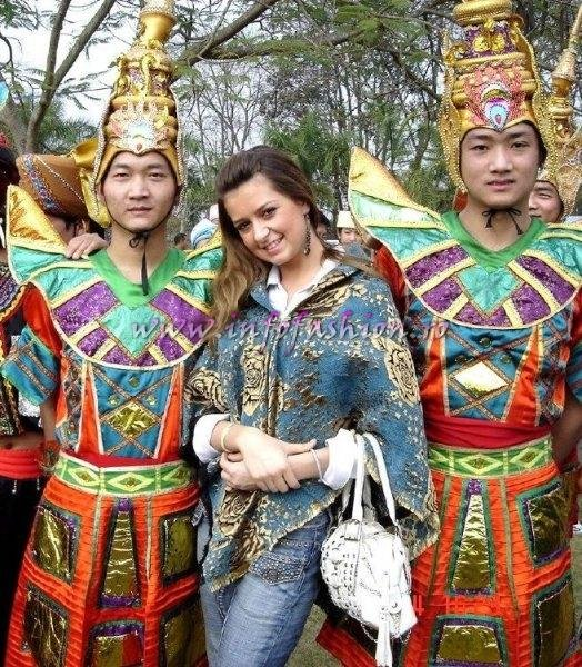 Liana Sabina Donea la Top Model of the World 2006 in China