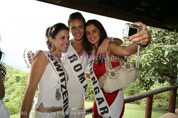 Boroka Kopacz la Miss Intercontinental 2007 in Seychelles