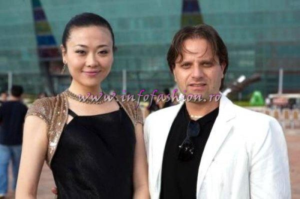 2007-Beauty of the World Contest China, WBC Co-presidents, Miss Ma Yongmei, China and Alex Canciani, Italy