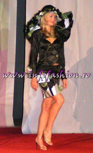 MM-Alina Popan la Miss Tourism World Romania 2005 in cadrul Festivalului Valea Prahovei